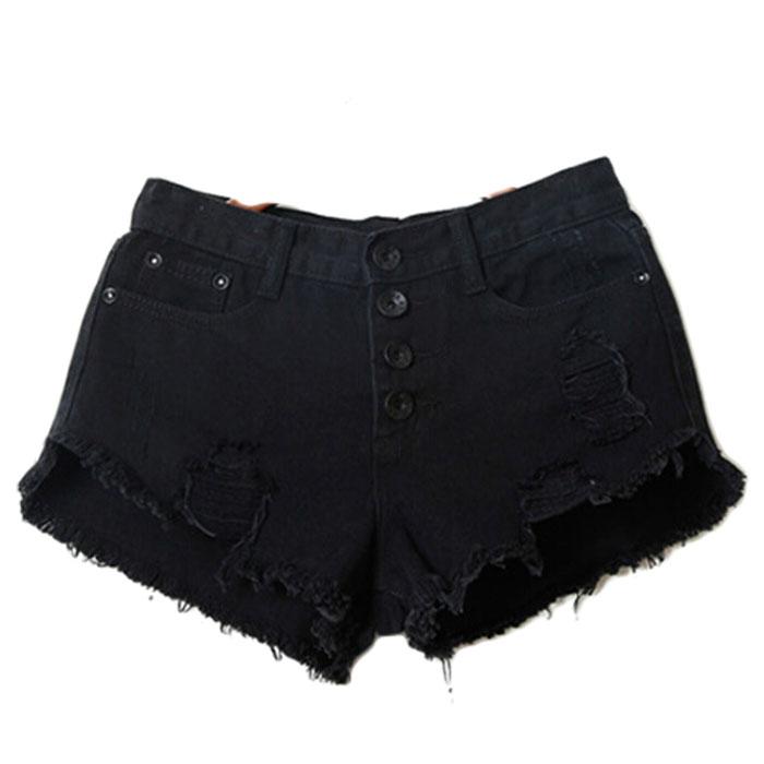 5133009e2f Krótkie spodenki damskie szorty jeansowe MODITO