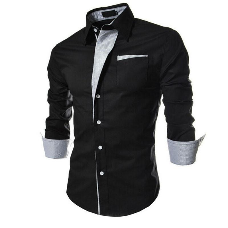 85d8c9a4ceb3e0 Koszula męska elegancka biała czarna casual MODITO