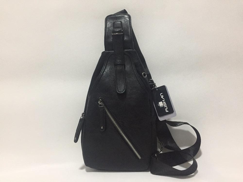 126f248f655d5 Męska torba plecak skóropodobny oryginalny czarny MODITO