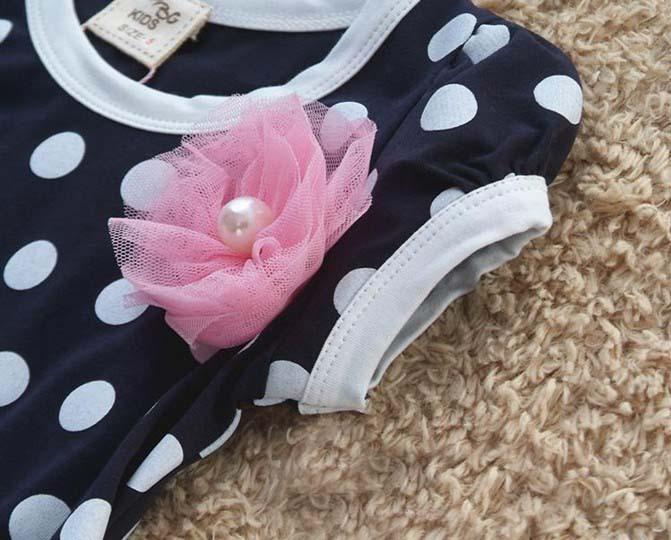 04ccbb8b5a Tiulowa sukienka w groszki dla dziewczynki 100 - 140 cm MODITO