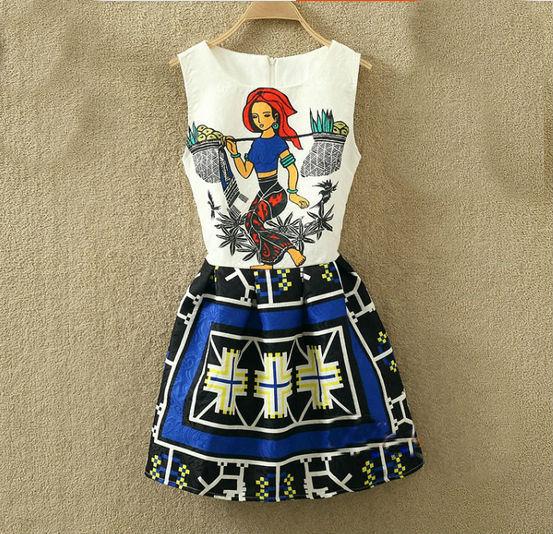 fd695ad20c Rozkloszowana sukienka na okazje różne wzory s-m. EK238. EK238  WZÓR 1  WZÓR  2  WZÓR 3  WZÓR 4  WZÓR 5 ...
