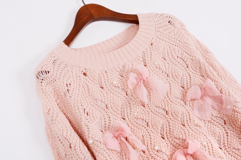 Пуловер С Бантом Доставка